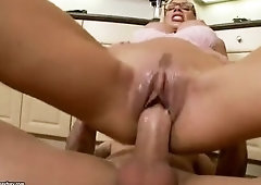Seducing buxomy Puma Swede acting in a sperm shot porn movie