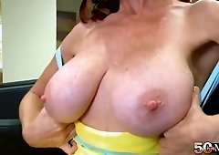 All about Karen Kougar's tits, pussy and ass
