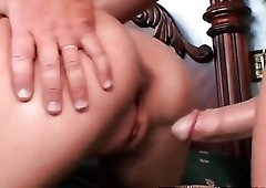 Fake titty hottie fucked and cum on tits