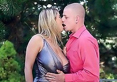 Awesome doggy style sex and kinky oral sex with aroused David