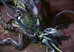 Aliens Fuck 107