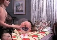 Raw scenes with obedient sweethearts enduring bondage sex