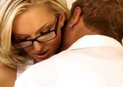 Horny pornstar Taylor Tilden in fabulous small tits, facial xxx movie