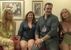 Cunnilingus porn video featuring Jodi West, Shay Fox and Desiree Dalton