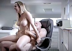 Secretary Brett Rossi faces repeated sexual harassment from her boss