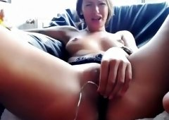Hello guys watch me vibrate my pussy