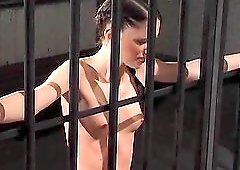 One of the things that pleases a brunette girl is getting punished