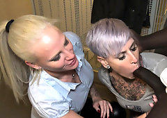 german amateur threesome teen ffm public with bbc