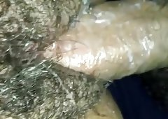 Tight pussy creams on thick cock