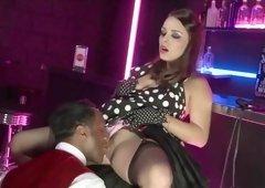Hottest pornstar Liza Del Sierra in amazing creampie, brazilian sex scene