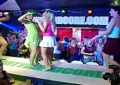 A frenzy of females fucking, sucking and dancing