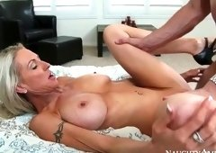 Blonde porn video featuring Emma Starr and Preston Parker