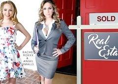 Angel Smalls & Rachel Roxxx in Real Estate - WankzVR