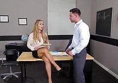 Big ass blonde needs a fuck session