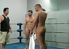 Raw fucked twink wrestling with his horny fuck buddy