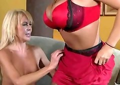 Ava Devine and Erica Lauren are a couple of orgasm craving ladies