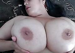Latina Chubby, Huge Boobs