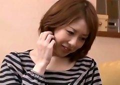 Best Japanese whore Akari Satsuki in Incredible Big Tits, Couple JAV movie