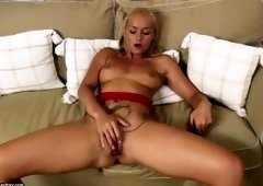 Honey fair-haired Czech Kathia Nobili is playing herself