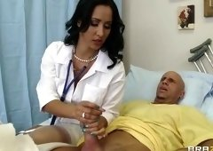 Cute buxomy latino MILF Isis Love