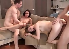 Steamy date turns into a swinging foursome