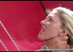 Gina Jolie & Roxanne Hall in Breathtaking Foursome - HarmonyVision