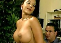 long hair big ass Angelica Sin doggystyle pounded hardcore