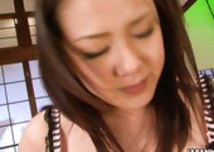 Sexy Asian secretary Rui Natsukawa enjoys riding her boss's cock