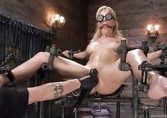 Hard Metal Bondage For Cherie Deville