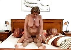 Grandma Kerstin fucks her neighbor