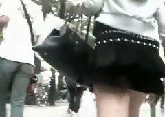 Asian fly skirt