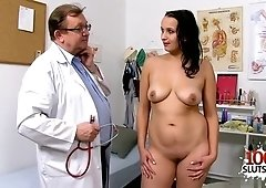 Old Gyno Doctor Exams My Wife