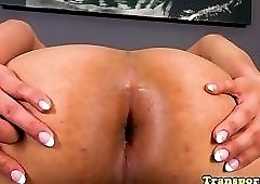 Nude girs on trampoline