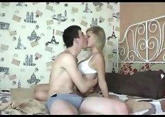 Hot Blonde Having Sex During Summer Holidays