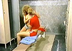 Karen Summer in the locker room - great ass - vintage