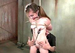 redhead slut becomes sex slave