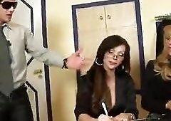Ebony secretary is ready for a good office fuck tags