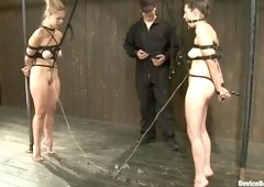 BDSM sex video featuring Missy Minks, Isis Love and Audrey Rose
