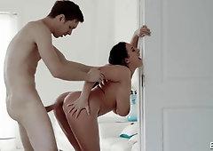 Huge-Boobed Nymph Boned Harshly - PornGem