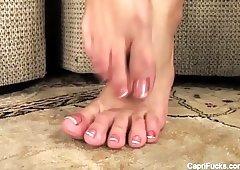 Capri cavanni feet