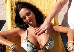 Lady With Big Juggs Gets Had Intercourse In Tight Anus - ANALDIN
