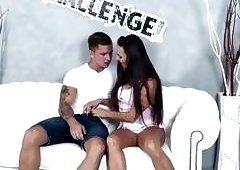 Melonechallenge - Muscle tattoo guy finally satisfy Mea Melone & creampie
