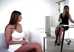 Stunning lesbo Nikki Dream finds it awesome to finger and lick juicy slit