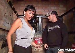 MILF Romana Ryder Pounded on an Elevator