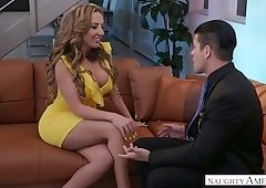 Jaw dropping milf Richelle Ryan is riding a dick after a deepthroat blowjob