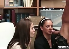Peyton and Seinna gets bang in the office