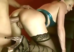 Нot mature german milf mom in stockings anal and blowjob dating amateur