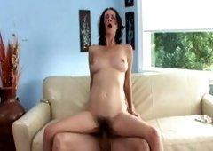 Fabulous pornstar Veronica Snow in hottest brunette, milf adult movie