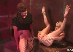 Prisoner Cherry Torn is fucked hard by one kinky master