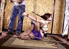 Heels high bondage in part 1